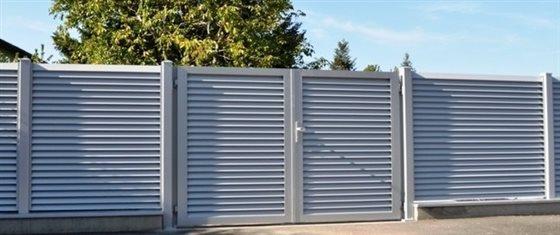 Hliníkové plotové systémy