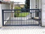 9a - jednokrídlová brána Lyon na elektrický pohon