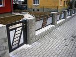 13a - plot Sena so šikmým predelom, výplň hliníkový ťahokov