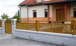 2a - plot a bránička Sena, výplň dierovaný hliníkový plech krúžok