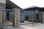 4c - vstupná bránka a brána Sena na elektrický pohon