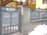 6a - vstupná bránka Sena s ornamentom kosoštvorec