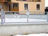 6c - detail plotového dielca Sena v dvojfarebnej kombinácii